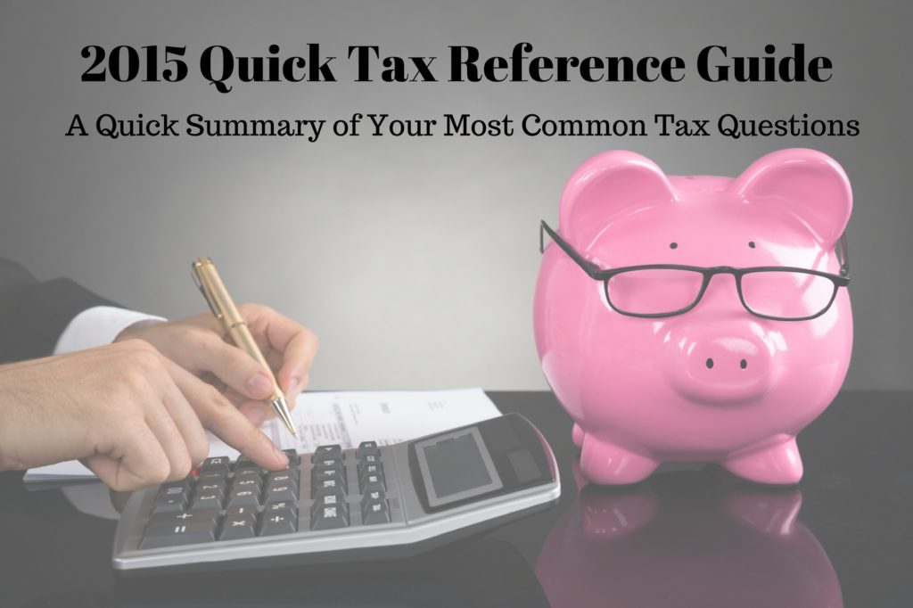 2015 tax reference guide